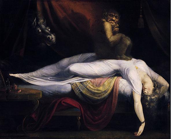 الجاثوم او شلل النوم