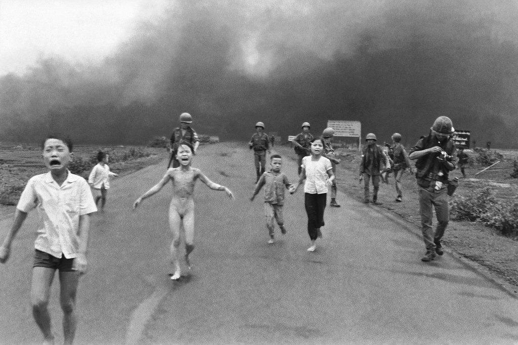 النابالم في حرب فيتنام