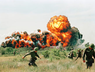 انفجارات النابالم