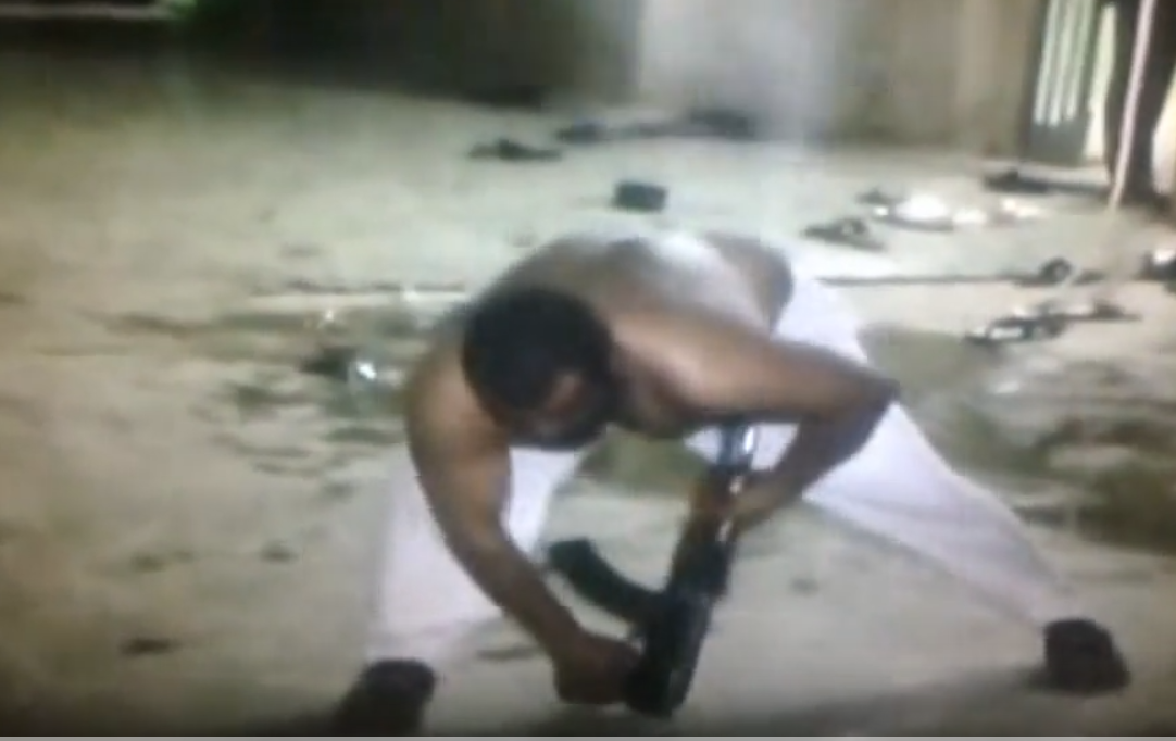 ممارسات الطرق الصوفية : اطلاق النار