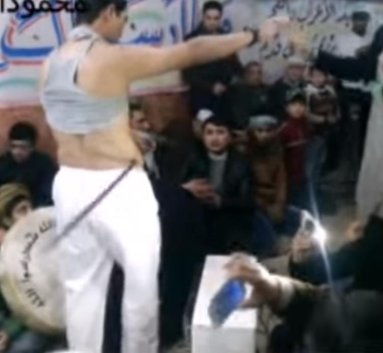 الطعن وضرب السيوف في ممارسات اهل الطرق الصوفية