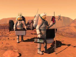 السفر الى المريخ