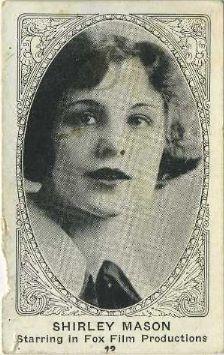 شيرلي ماسون في طفولتها