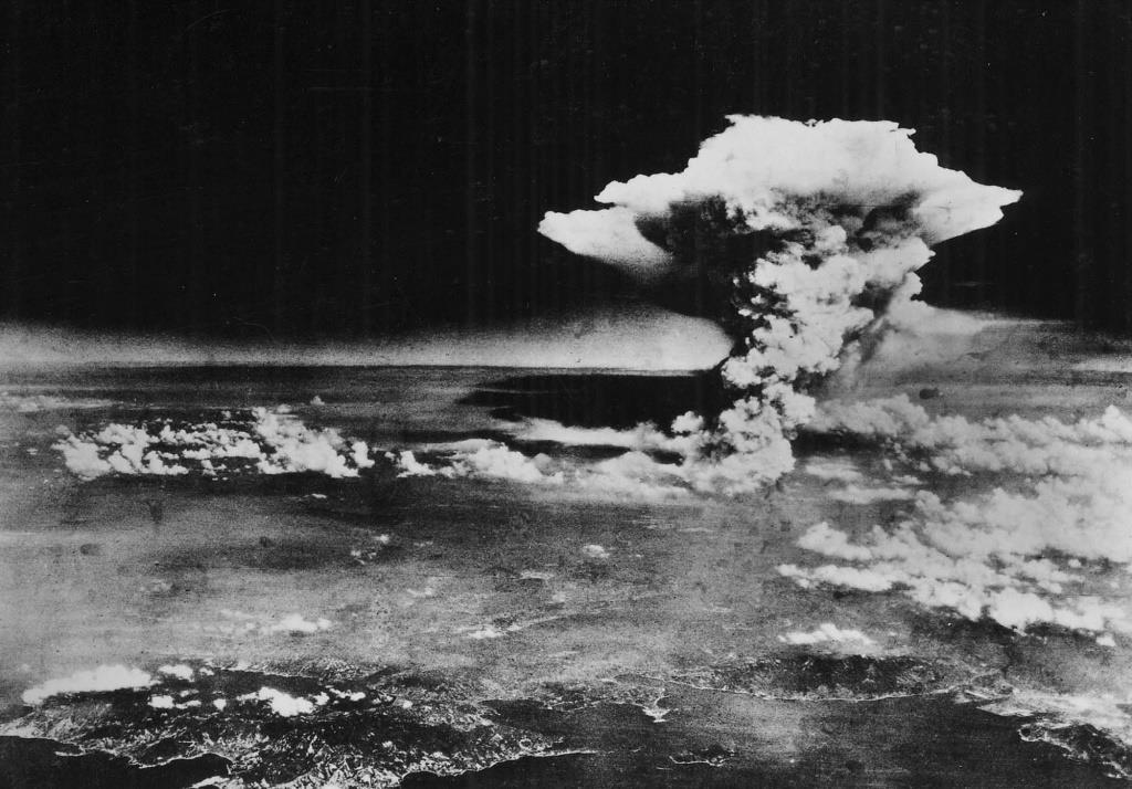 انفجار القنبلة الذرية في هيروشيما
