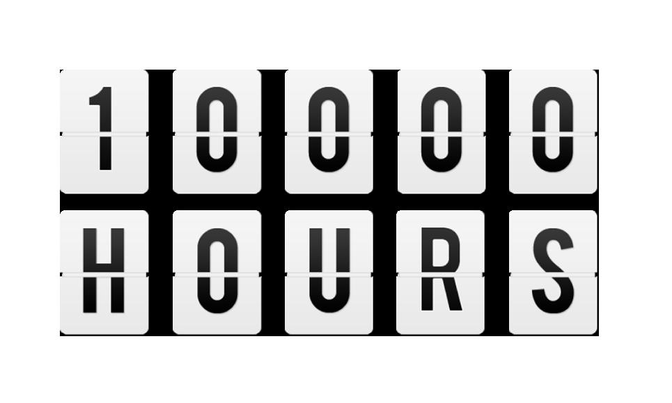 10000 ساعة