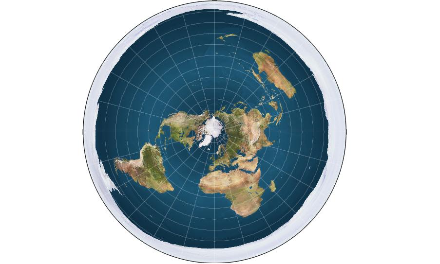 الارض المسطحة