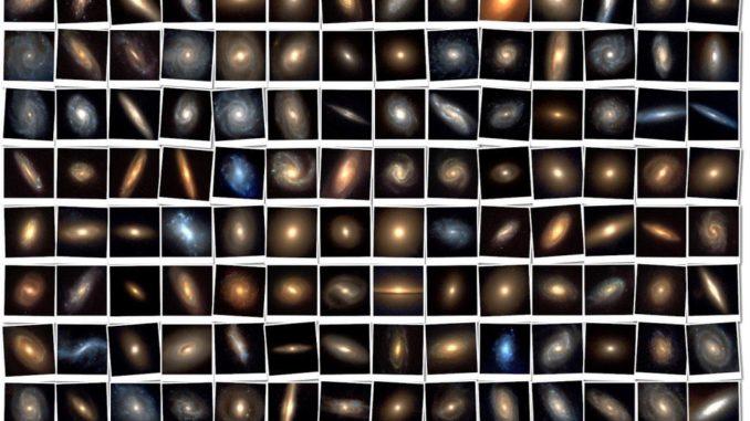 انواع المجرات
