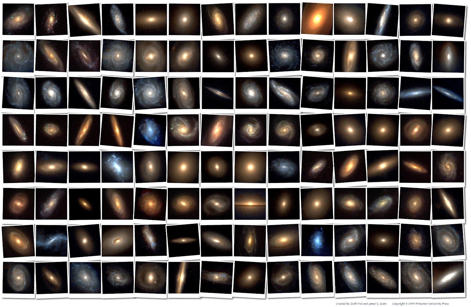 أنواع المجرات الموجودة بالكون (The Alien Galaxies)