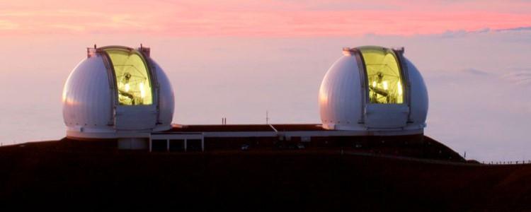 تلسكوب كيك