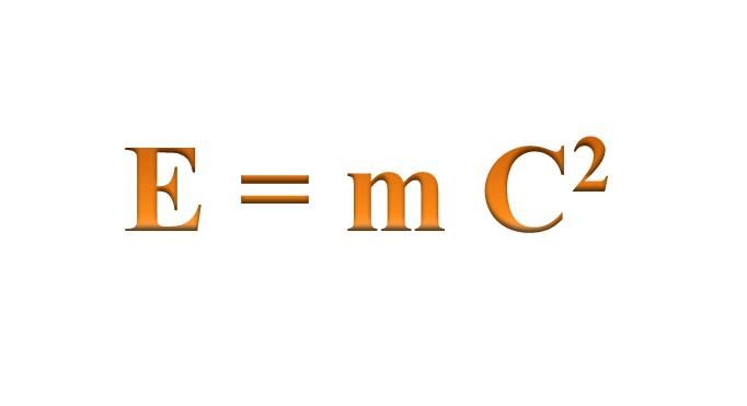 مُعادلة تكافؤ الكتلة والطاقة لآينشتين