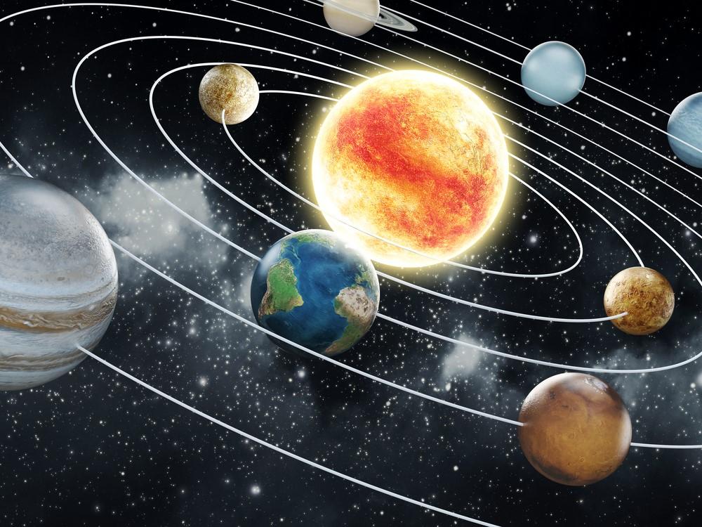 الصور الحقيقية للكواكب