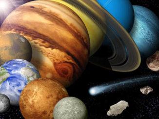 كواكب المجموعة الشمسية