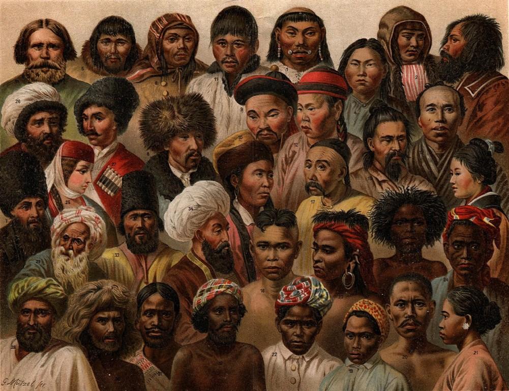 أعراق بشرية متعددة
