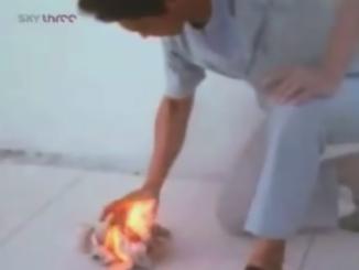 طاقة التشي حرق ورقة