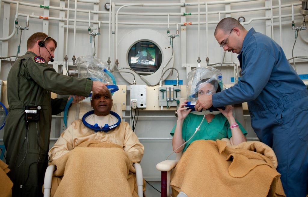العلاج بالضغط العالي للأوكسجين