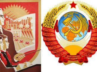 شعار الوزارات في الاتحاد السوفيتي والبروباغاندا التعليمية وترويج العلوم بصفتها علوم زائفة برجوازية