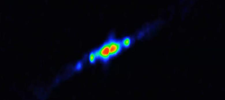 ثقب أسود يبتلع نجماً في مجموعة أكويلا