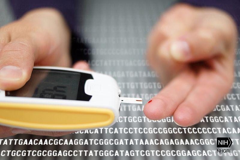 جهاز لفحص نسبة السكر في الدم