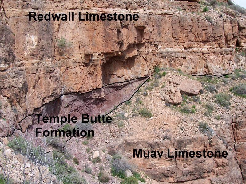 الصخور في الاخدود العظيم وطوفان نوح