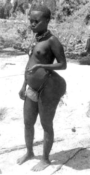 امرأة من القبائل الأندامية