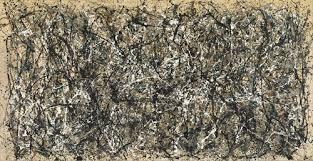 لوحة للفنان الأمريكي جاكسون بولوك