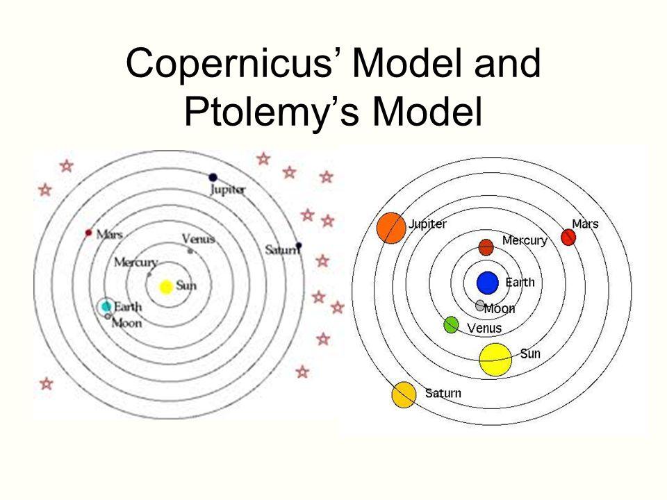 نموذج كوبرنيكوس ونموذج بطليموس
