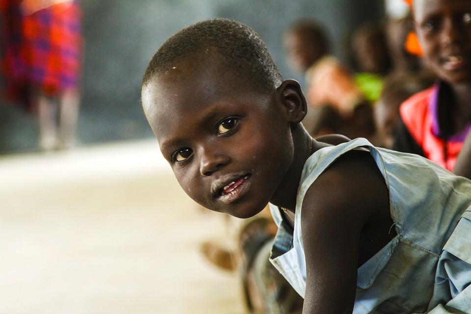 طفل من جنوب افريقيا