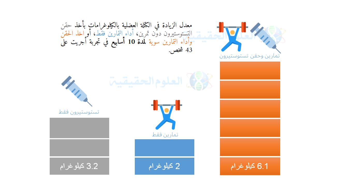الزيادة في الكتلة العضلية